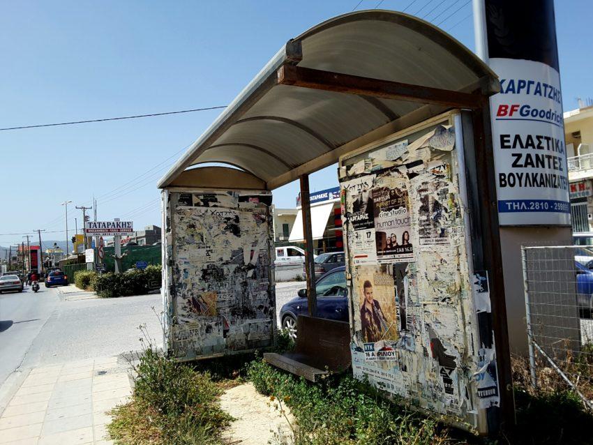 Heraklion przystanek autobusowy