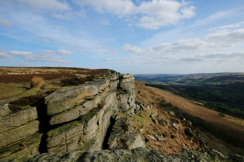Peak District Bamford Edge