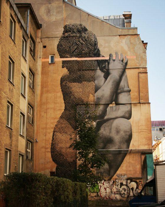Mural na ul. Widok - Śródmieście