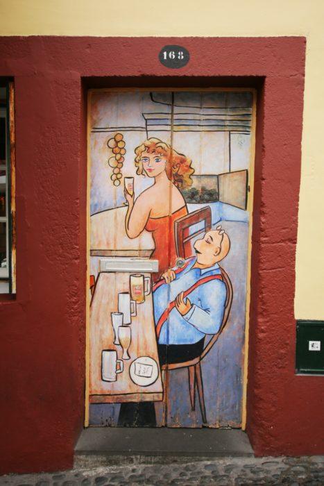 Funchal door