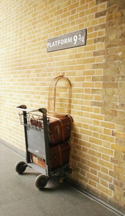 Platform 9 i 3/4 na King Cross