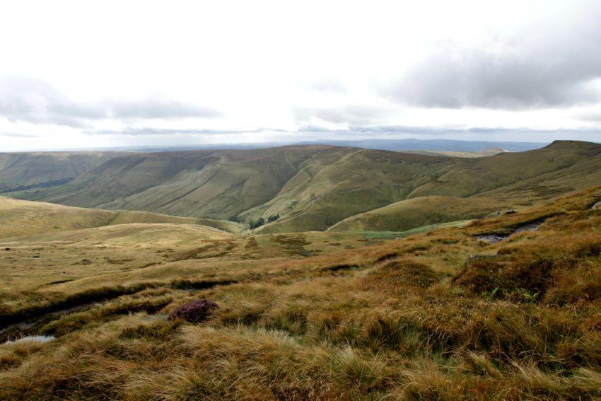 Widok na zachodnią stronę szlaku