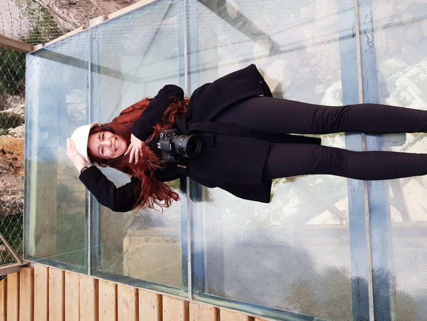 Szklany taras na szlaku