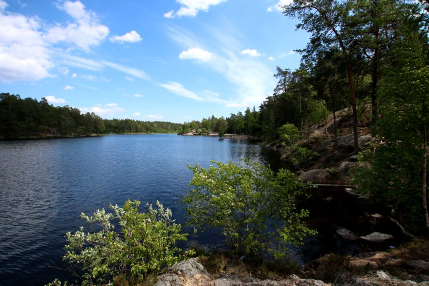 Rezerwat Gommaren szwecja