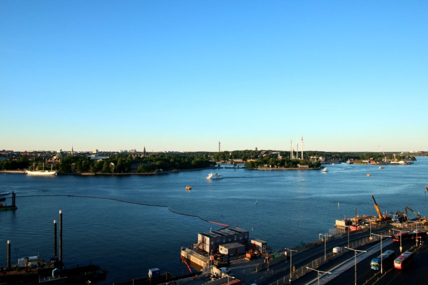 sztokholm view from gondolen