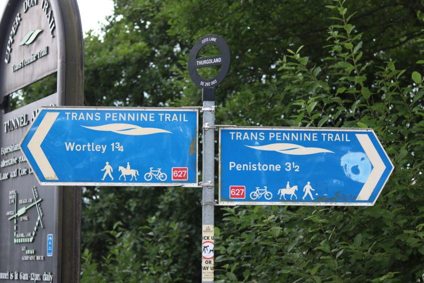 trans pennine trail thurgoland