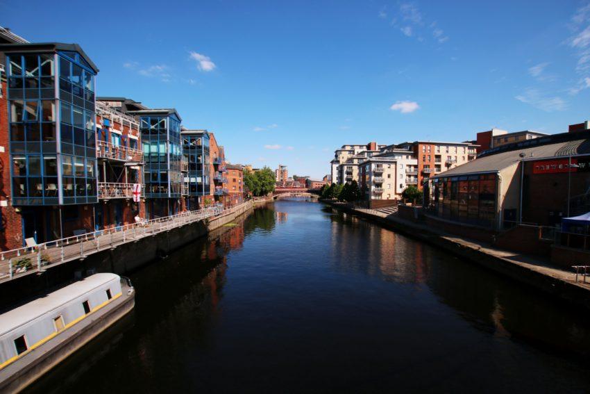 Rzeka Aire - Leeds