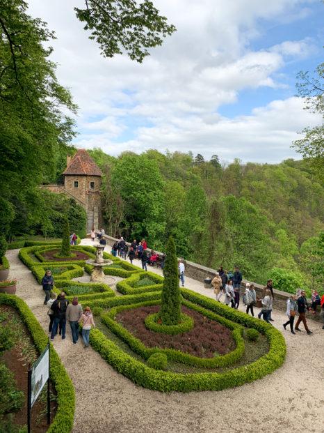 Ogrody na Zamku w Książu