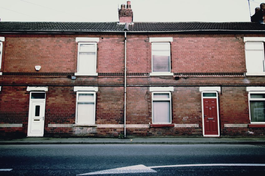 english terraced house