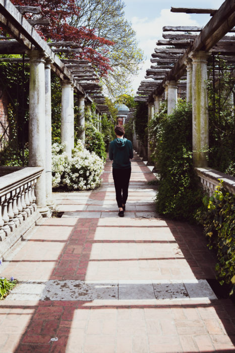 londyn pergola garden