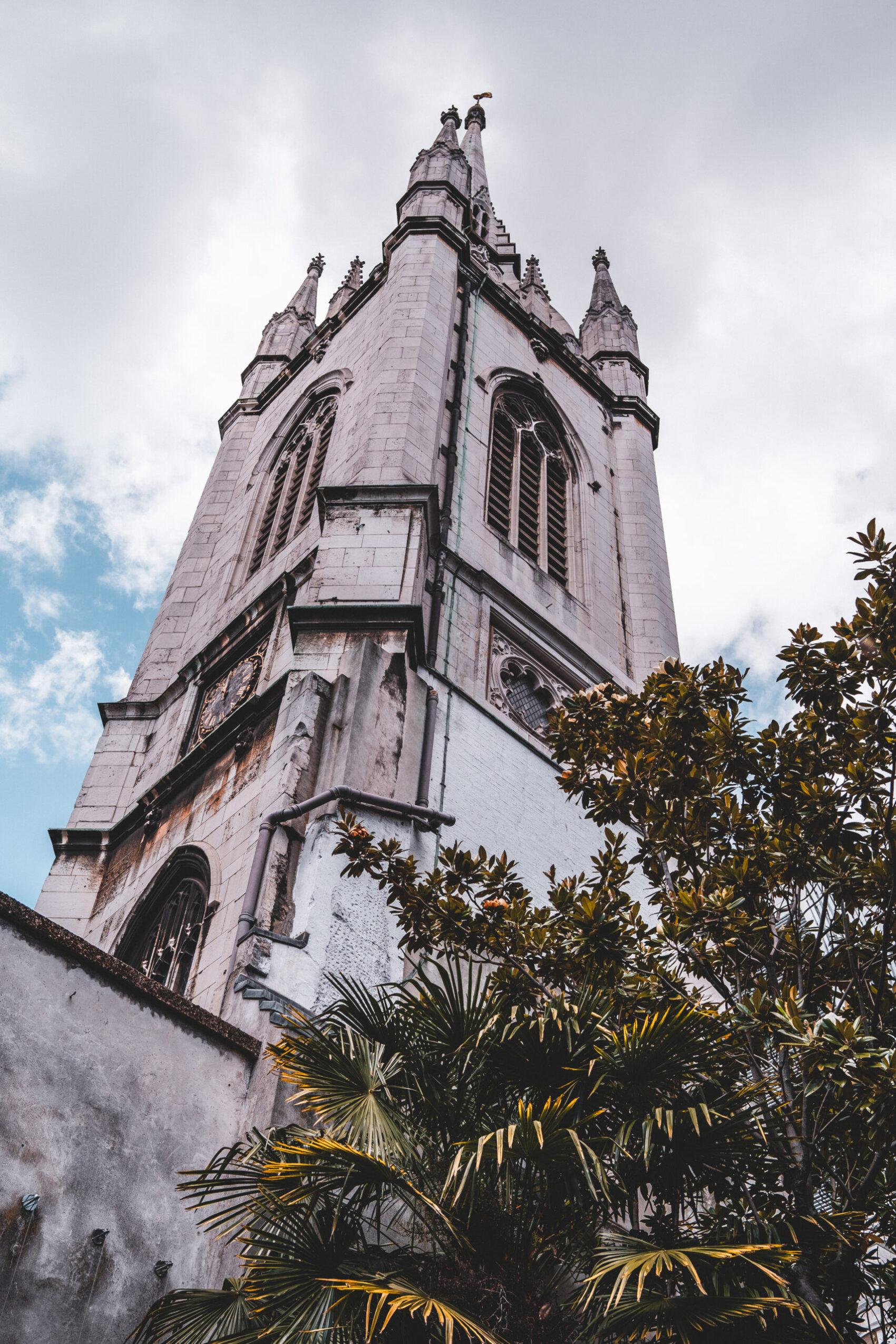Pozostałości z kościoła St. Dunstan in the East