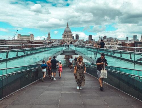 most milenijny londyn